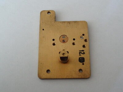 Vintage Platform Escapement Plate (clock parts) nos