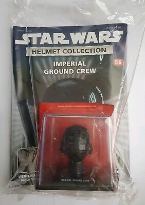 STAR WARS Helmet Collection Issue 56 Imperial Ground Crew DeAgostini Brand NEW