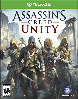 New! Assassin's Creed: Unity Microsoft Xbox One Digital Code Fast Email Delivery