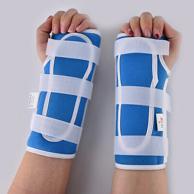 Medical Carpal Tunnel Wrist Brace Support Sprain Splint Band Strap Pain ReliefES