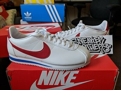 quality design ddf04 adfee NIKE WOMEN'S W Classic Cortez Leather White Varsity Red Forrest Gump  807471-103