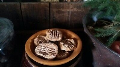 PRiMiTiVE ☆ FarmHouse ☆ Country ☆ Pantry Faux Fake Peanut Butter Cookies Ornies