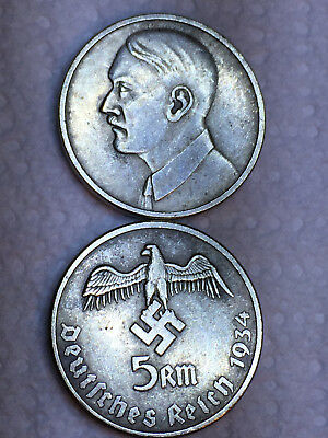 Collection of 12 Adolf Hitler Tokens Coins and or Medallions German WW2 Germany