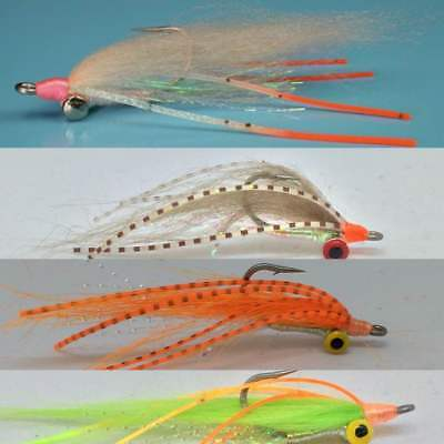 8 Bone-fish  Gotcha Spawning Shrimp Silly Legs collection