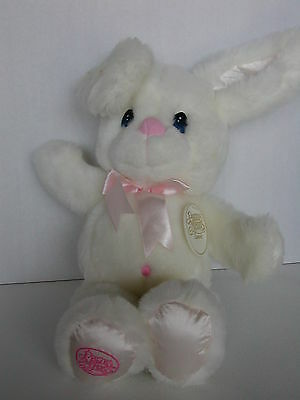 Precious Moments Stuffed Bunny With Tag