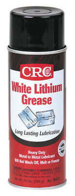 White Lithium Grease10Oz, Crc 5037, Upc: 078254050379