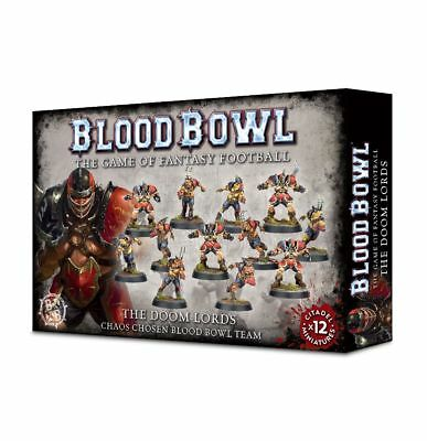 Blood Bowl - The Doom Lords Team Games Workshop Chaos Gors Fantasy Football