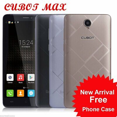 6,0 Zoll 4G Handy CUBOT MAX Smartphone 3+32GB Android6 2XSIM Fingerprint+ 4100mA