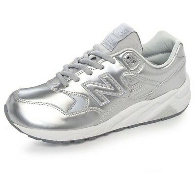 buy popular baf6a 14143 NEW BALANCE WRT580MS Silver Color Trainers Running Athletic Shoes Womens  Size