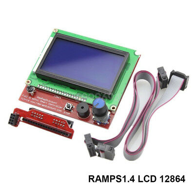 NEW 1PC RAMPS1.4 LCD 12864 Control Panel 3D Printer Smart Controller LCD Display
