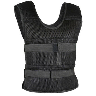 Adjustable Weight Vest Running Workout Speed Training Loading Weighted Vests