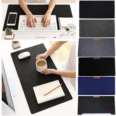 Large Size Felt Gaming Mouse Pad Extended Desk Laptop Keyboard Mice Mat Mousepad