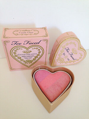 """TOO FACED Fard à joues/ Blush SWEETHEARTS """"Candy Glow"""" NEUF"""
