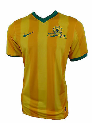 Nike MAMELODI SUNDOWNS South Africa Jersey Kit Yellow Size M