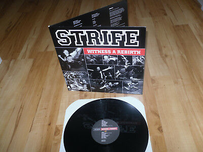"STRIFE ""Witness A Rebirth"" Vinyl-LP Gatefold Snapcase Have Heart 6131 Records"