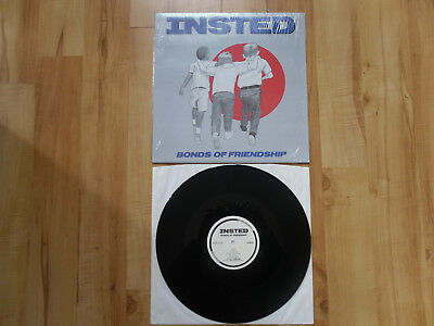 "INSTED ""Bonds of Friendship"" LP SxE Youth Of Today Bold Wishingwell Records"