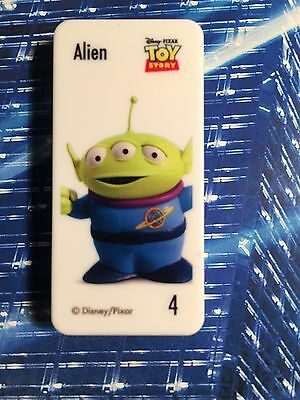 Woolworths DISNEY PIXAR STAR ALIEN from the Toy Story movie is Domino No:4