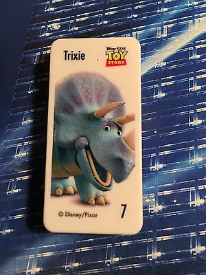 Woolworths DISNEY PIXAR STAR TRIXIE from the Toy Story movie is Domino No:7