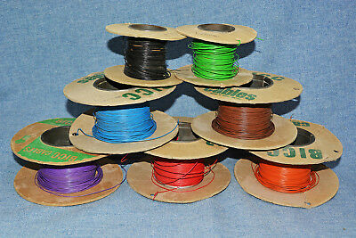 Hook-Up Wire Solid Core (Lot Of 7 Colours)
