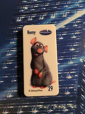 Woolworths DISNEY PIXAR STAR REMY from Ratatouille is Domino No:29