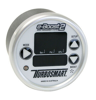 Turbosmart eBoost 2 60psi 60mm Boost / Methanol / Nitrous Controller Guage