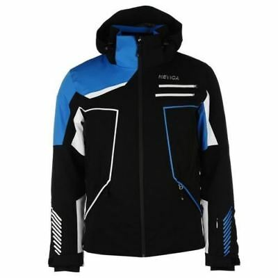 Nevica Mens Gents Whistler Ski Jacket Waterproof Sport Wear Warm Zipped Small
