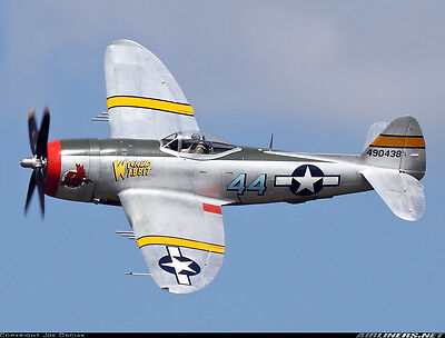 "Plans for P-47D Thunderbolt  55""wing    Scale RC Model AIrplane Printed Plans"