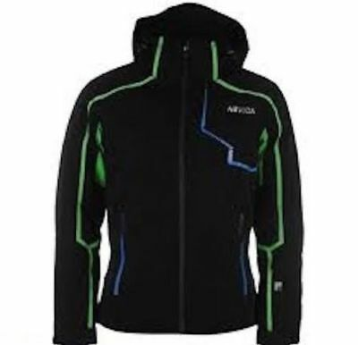 Nevica Mens Demo Jacket Black Size Small