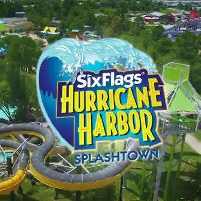 Six Flag's Hurricane Harbor Splashtown Tickets $29    A Promo Discount Tool