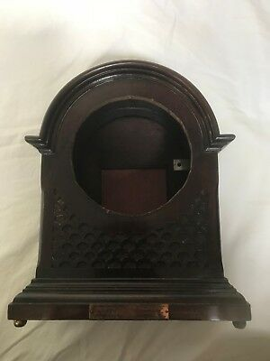 Bracket Clock Case  In Rosewood 1920's