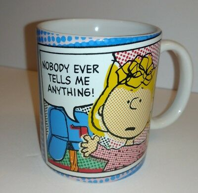NEW Peanuts Sally Brown Mug by Gibson.  Free Shipping USA and Canada