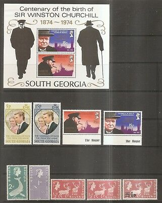 British Commonwealth - Older Stamps From South Georgia.