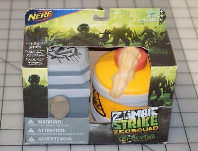 Nerf Zombie Strike Z Bombz Foam Bombs 2Pack New! (001)