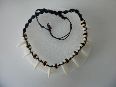 Polynesian Maui Necklace / Shark teeth /  Moana's movie  PRICE FOR ONE NECKLACE