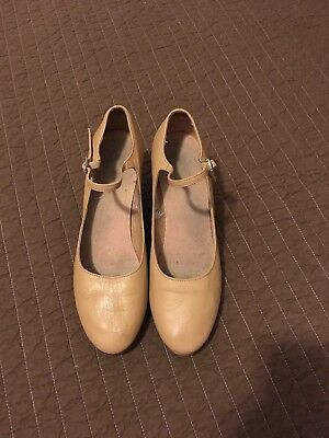 Bloch Character Shoes Size 9.5. Tan color. Still have life in them!
