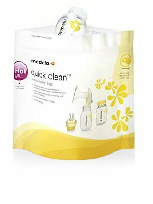Medela Quick Clean Micro-Steam Sterilisation Bags x5