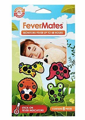 Mediband Fevermates Stick on Thermometers Contains 8 pieces