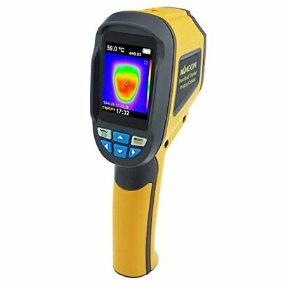 KKmoon 3600 Pixels Thermal Imaging Camera Infrared Thermometer IR Combines Surfa