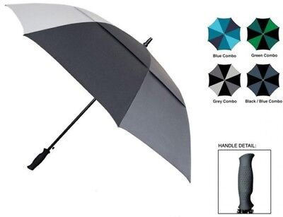 "SKYTECH 62"" DOUBLE CANOPY AUTOMATIC FOLDING GOLF UMBRELLAS > (Lot of 24)"