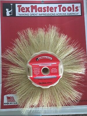 "TexMaster Tools 9901 Stipple Brush Tampico Shag Style 8"" for Drywall Texture"
