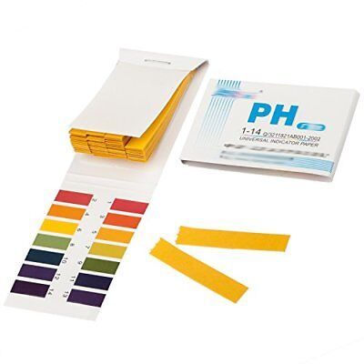 TRIXES Litmus Paper pH 1 to 14 Test Book 80 Strips