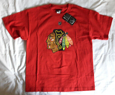 NHL Chicago Blackhawks #19 Jonathan Toews t-shirt, Reebok, Youth XL, BNWT