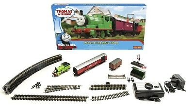 NEW Percy And The Mail Train  Hornby Set from Mr Toys