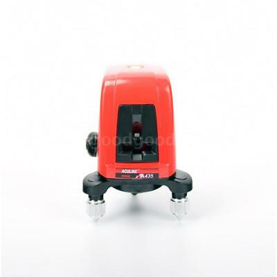 Portable AK435 360 Degree Self-leveling Cross Laser Level 2 Line 1 Point N7G2