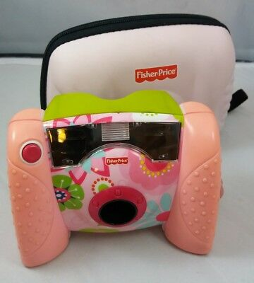 Fisher-Price (L8341) Kid Tough 1.3 MP Toddler Pink Digital Camera With Case