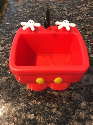 DISNEY PARKS MICKEY MOUSE Pants KITCHEN SINK Ice Cream Bowl ...