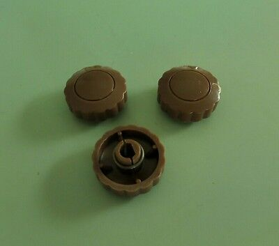 3 AWA  Radio knobs' reproduced to exact  suit 1949 to 1953