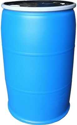 WATER BARREL 55 Gallon Storage Container Drum Emergency Essential