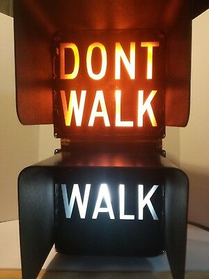 Durasig Pedestrian Walk / Dont Walk Street Signal With Home Outlet