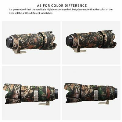 Outdoor Photography Camo Waterproof Rubber Lens Protection Camouflage Coat Cover